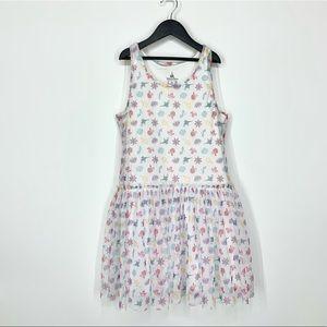 Disney Parks All Over Print Princess Tulle Dress